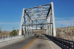 Mojave River Steel Bridge