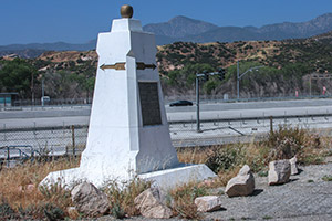 Santa Fe and Salt Lake Trail Monument