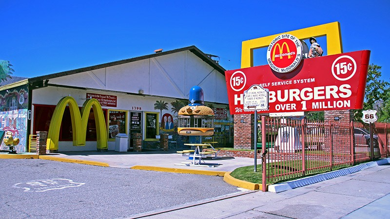Original McDonald's Site & Museum